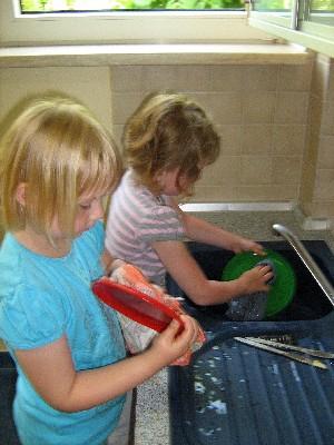 Einhalten der Regeln in der Kindergaststätte