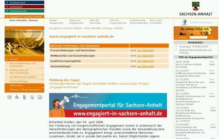 Engagiert in Sachsen-Anhalt