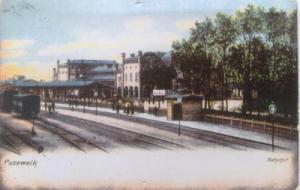 Bahnsteig - Entwicklung