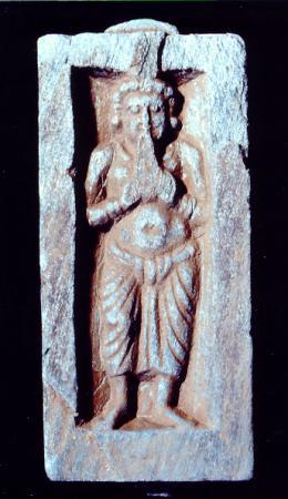 Flötenspieler   Hadda  Afgh.  3. Jh. n. Chr.