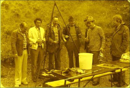 Errichtung der Schutzhütte 1976 (2)
