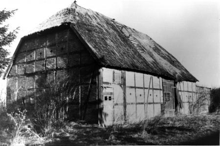 Scheune in Franzensberg, um 1958