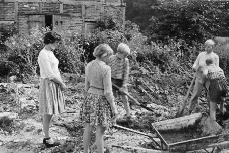 Ausbau des früheren Forstgehöftes zur Pionierstation 1959/1960 (3)