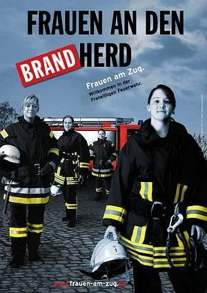 Frauen an den Brand Herd 02