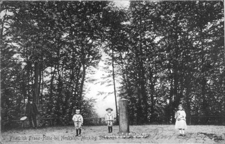 Ansichtskarte Friedrich-Franzens-Höhe von 1909 oder früher