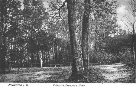 Ansichtskarte Friedrich-Franzens-Höhe um 1925