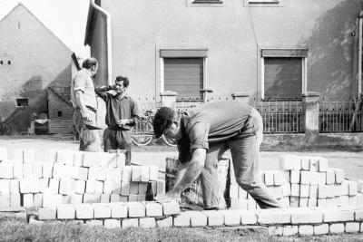 Bau Feuerwehrgerätehaus 1