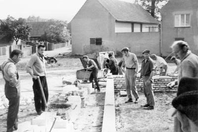 Bau Feuerwehrgerätehaus 3