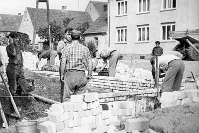 Bau Feuerwehrgerätehaus 5