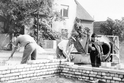 Bau Feuerwehrgerätehaus 6