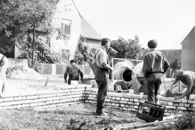 Bau Feuerwehrgerätehaus 7