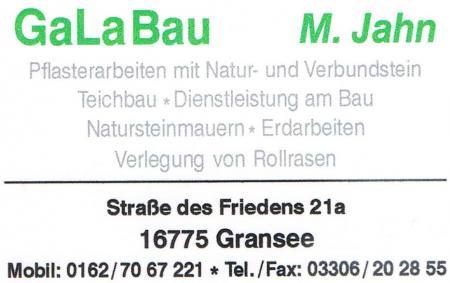 GaLa Bau Marcus Jahn