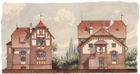 Bauzeichnung Gasanstalt 1905-6