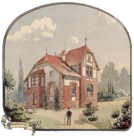 Bauzeichnung Gasanstalt 1905-5