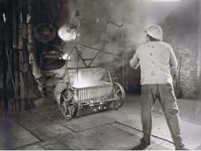 Gasherstellung