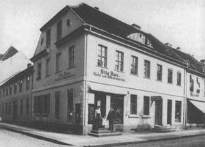 Geburtsahus von Edlef Köppen in Genthin