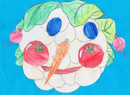 Gemüsebild von Lisa