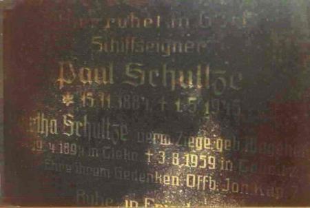 Grabplatte Schulze