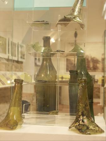 Grabungsfunde in der Ausstellung