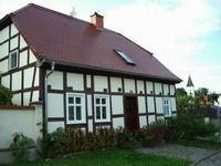 älteste Fachwerkhaus in Lebus
