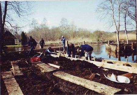 Hafenbau März 2002