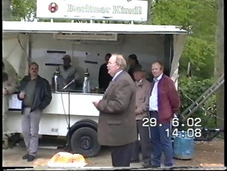 Hafenerffnung 23.06.2002 - Bürgermeister H. Schütt