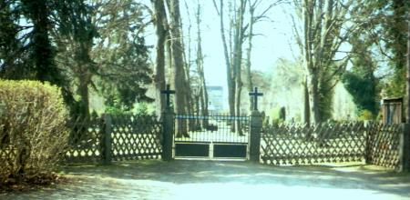 Eingangstor Hauptfriedhof