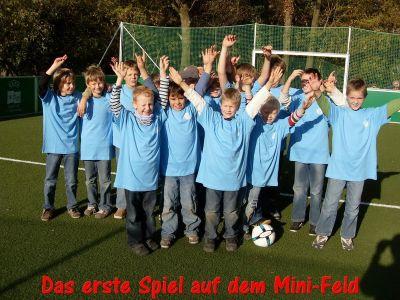 Highlights Einweihung Mini-Spielfeld 01