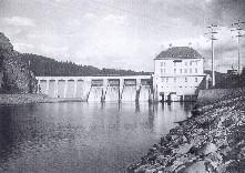 Staudamm Höllensteinsee