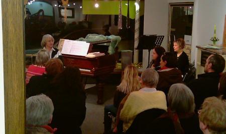 Musizieren im Seniorenheim