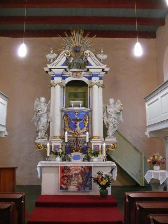 Kirche Rohrbeck Altar