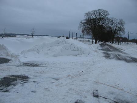 Schneeverwehungen