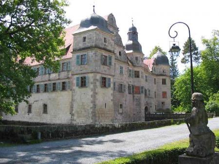 Wasserschloss in Mitwitz