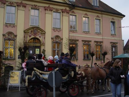 Gilardihaus mit Kutsche