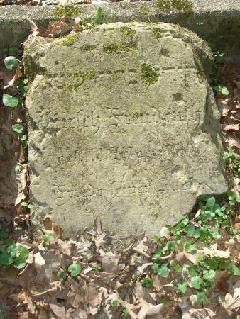 Grabstein Hirsch Freudenthal