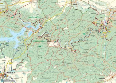 Karte Bodetal