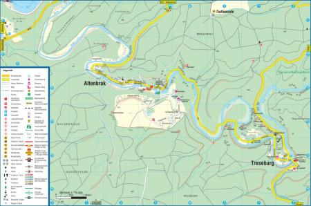 Karte Treseburg - Altenbrak