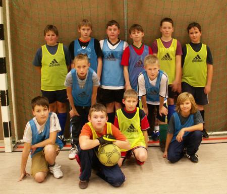 Kinderfußball Dez. 2009
