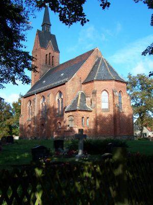 Kirche Bornow