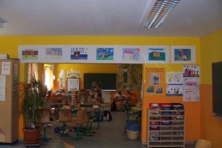 Klassenraum der 2