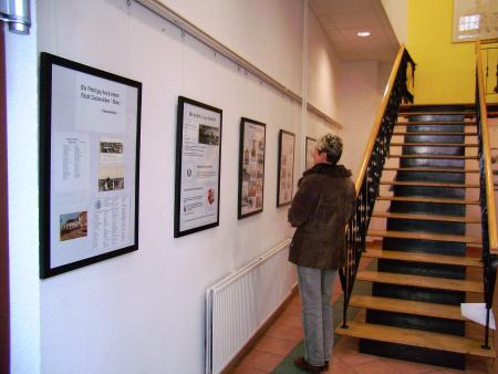 Kleine Galerie - Besucher