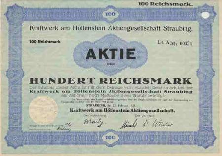Aktie Höllenstein