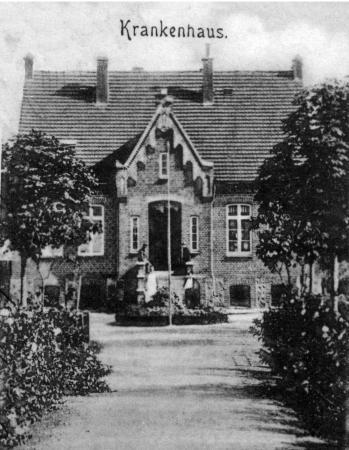 Krankenhaus um 1900