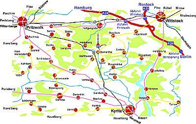 Karte neu Wegbeschreibung