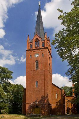 Stüler-Kirche in Reitwein