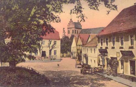 Marktplatz, Postkarte 1924
