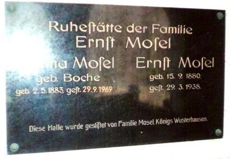 Grabstätte Mosel
