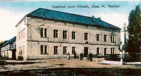 Gaststätte Zum Hirsch 1925