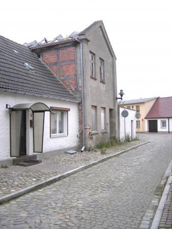 Zustand des früheren jüdischen Stiftshauses 2007