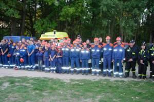 Nachtwanderung der Jugendfeuerwehren des Landkreises Uckermark am 22. September 2006 in Warthe